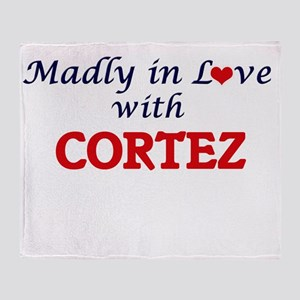 Madly in love with Cortez Throw Blanket