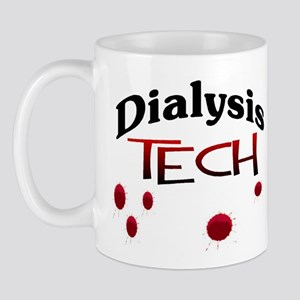 Dialysis Tech with blood drops MISTER SIRLOIN Mugs