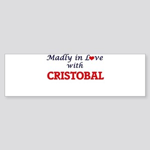 Madly in love with Cristobal Bumper Sticker