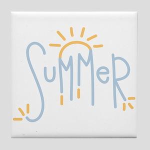 Summer Tile Coaster