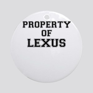 Property of LEXUS Round Ornament