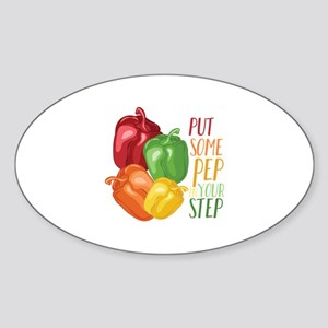 Pep In Step Sticker