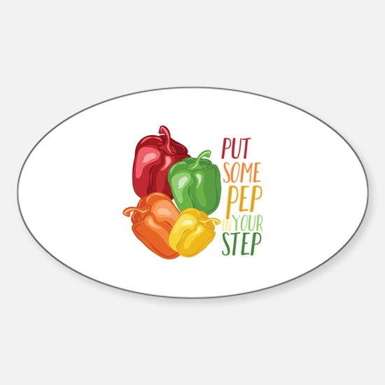 Pep In Step Decal