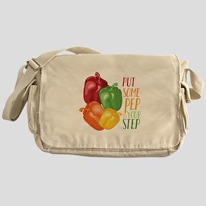 Pep In Step Messenger Bag