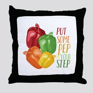 Pep In Step Throw Pillow