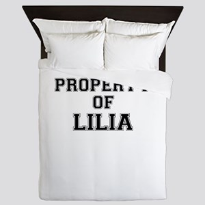 Property of LILIA Queen Duvet