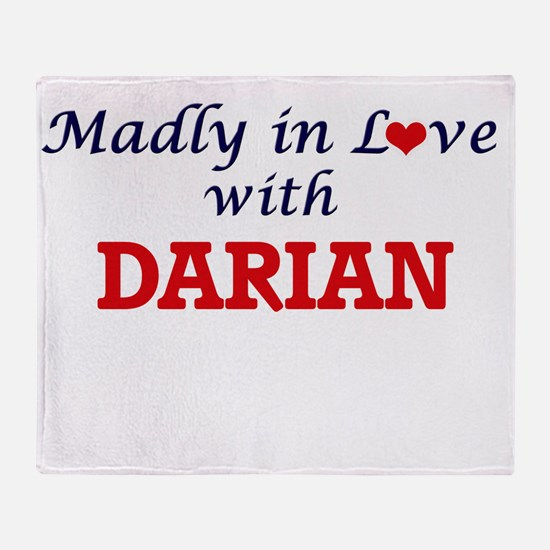 Madly in love with Darian Throw Blanket