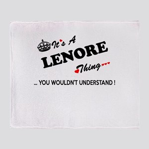 LENORE thing, you wouldn't understan Throw Blanket