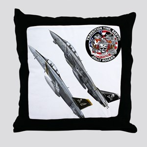 Jolly Rogers Throw Pillow