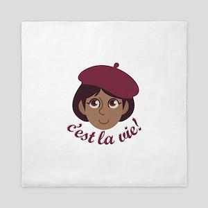 Cest La Vie Queen Duvet
