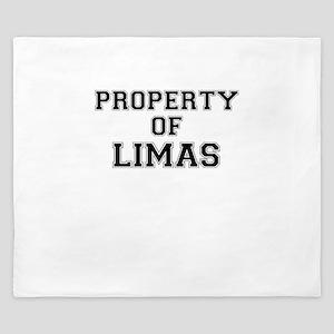 Property of LIMAS King Duvet