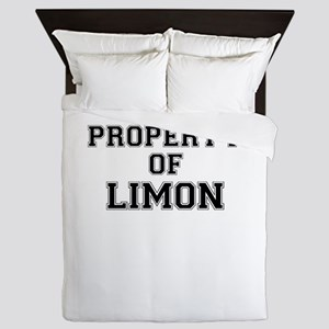 Property of LIMON Queen Duvet