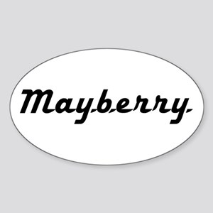 Mayberry Sticker (Oval)