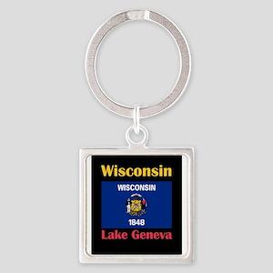Lake Geneva Wisconsin Keychains