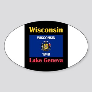 Lake Geneva Wisconsin Sticker