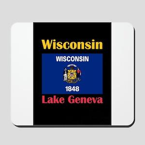 Lake Geneva Wisconsin Mousepad