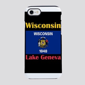Lake Geneva Wisconsin iPhone 8/7 Tough Case