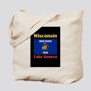 Lake Geneva Wisconsin Tote Bag