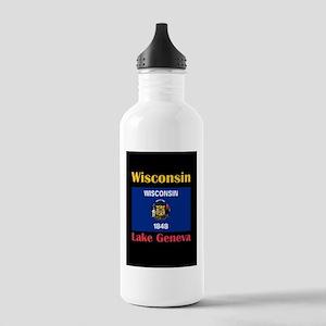 Lake Geneva Wisconsin Water Bottle