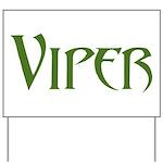 Viper Yard Sign