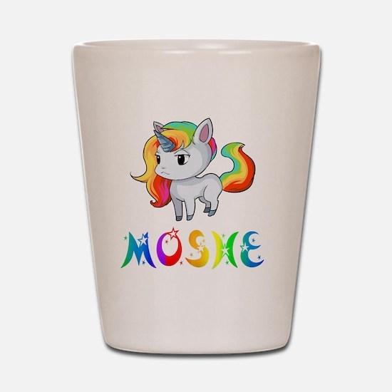 Unique Moshe Shot Glass