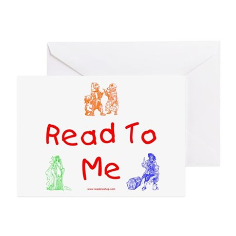 Read-Storybook Greeting Cards (Pk of 10)