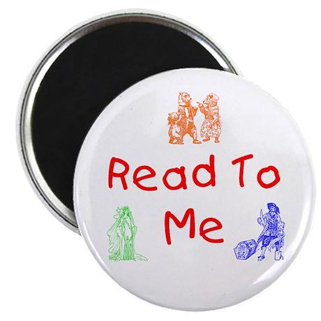 "Read-Storybook 2.25"" Magnet (100 pack)"
