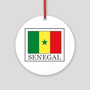 Senegal Round Ornament