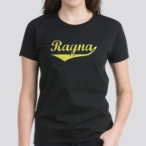 Rayna Vintage (Gold) Women's Dark T-Shirt