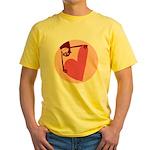 Monkey Love Yellow T-Shirt