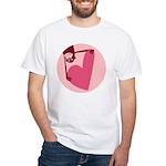 Monkey Love White T-Shirt