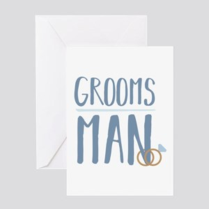 Groomsman Greeting Cards