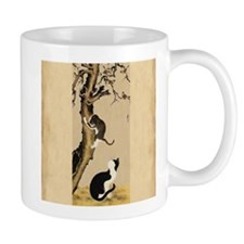 Cats and Sparrows Mugs
