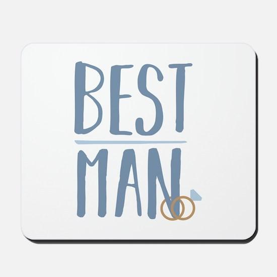 Best Man Mousepad
