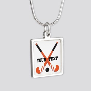 Personalized Field Hockey Necklaces