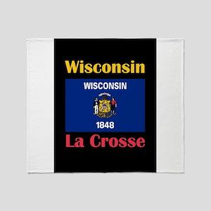 La Crosse Wisconsin Throw Blanket