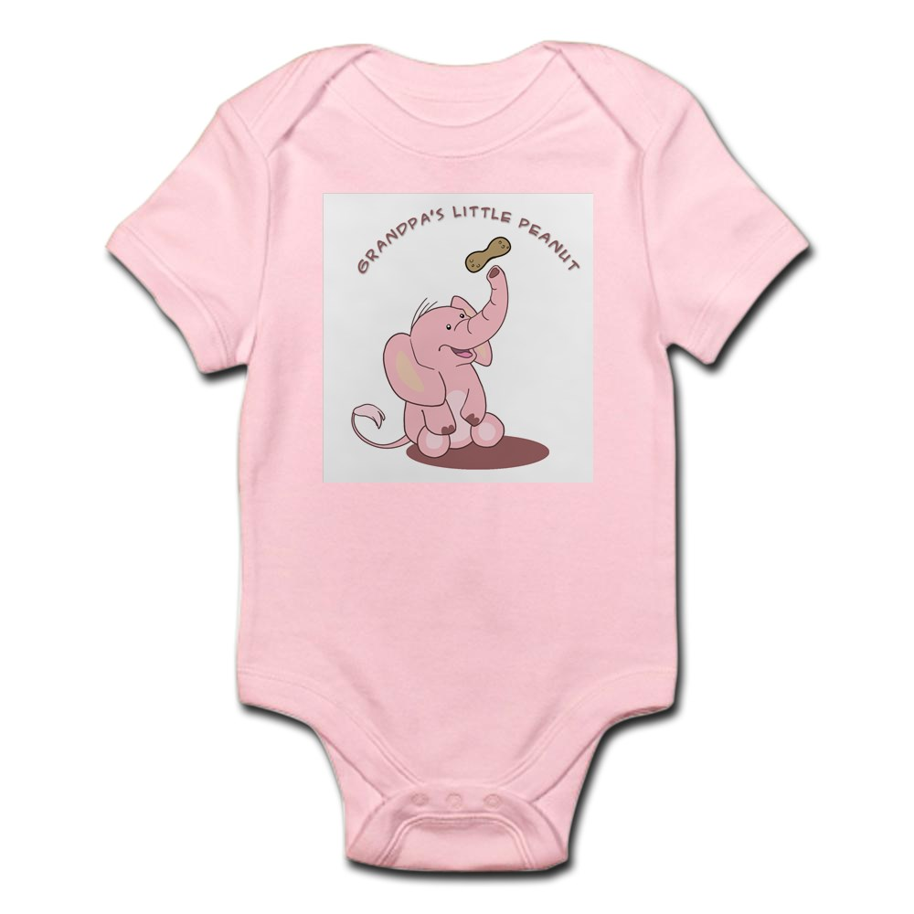 CafePress-Grandpa-039-s-Little-Peanut-Infant-Bodysuit-Baby-Bodysuit-199363280 thumbnail 15