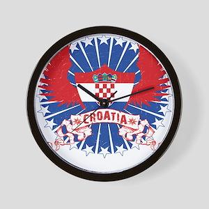 Croatia Winged Wall Clock