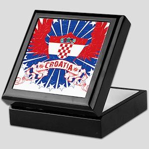 Croatia Winged Keepsake Box