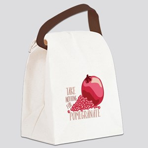 For Pomegranate Canvas Lunch Bag