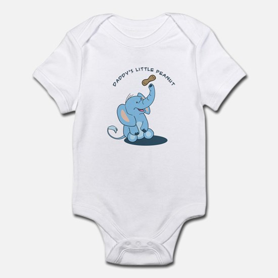 Daddy's little peanut Infant Bodysuit