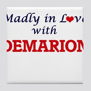 Madly in love with Demarion Tile Coaster