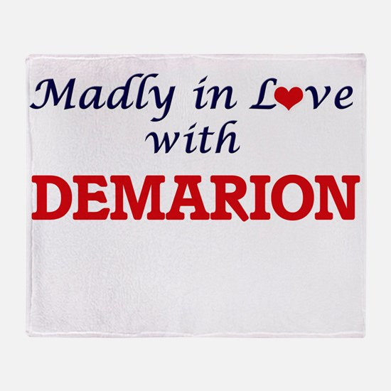 Madly in love with Demarion Throw Blanket