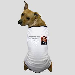 Ronald Reagan 2 Dog T-Shirt