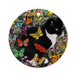 Freckles in Butterflies I Ornament (Round)