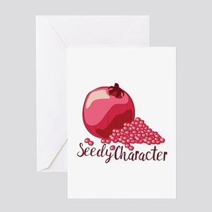 Seedy Character Greeting Cards