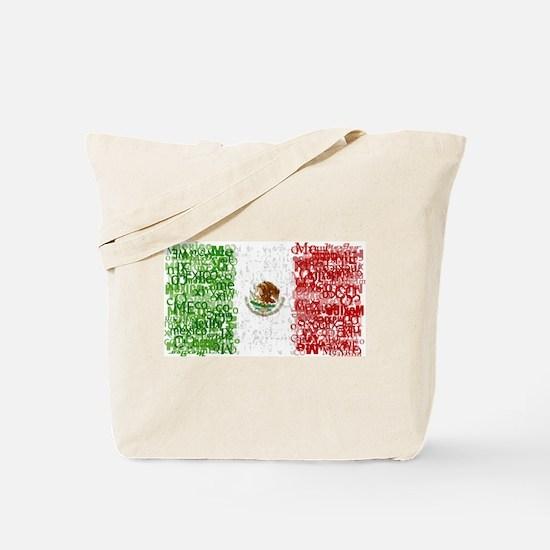 Textual Mexico Tote Bag