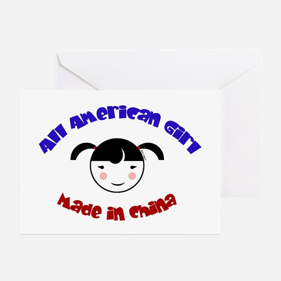 ALL AMERICAN GIRL Greeting Cards (Pk of 10)