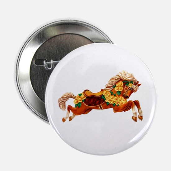 Carousel Horse Button