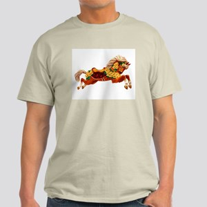 Carousel Horse Ash Grey T-Shirt